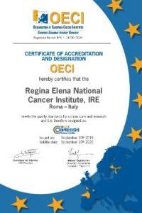 Accreditamento dell'IRE presso OECI