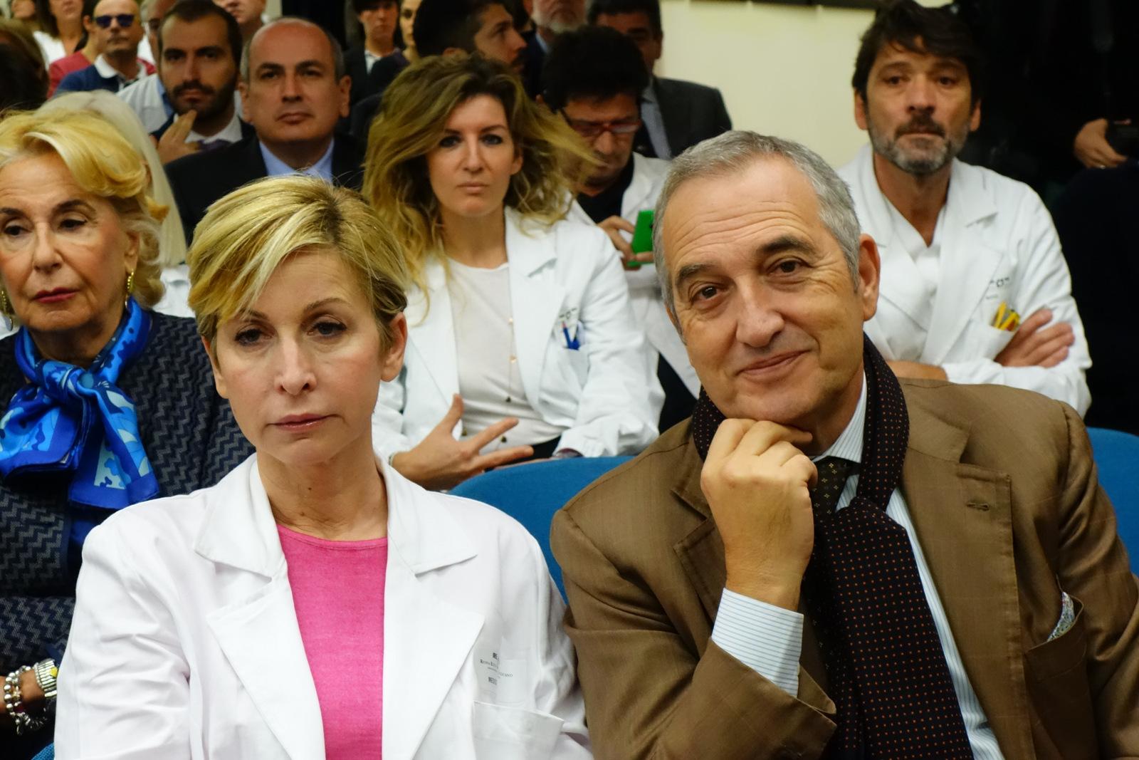 Dorino Bianchi e Francesco Vaia alla presentazione Fase 1