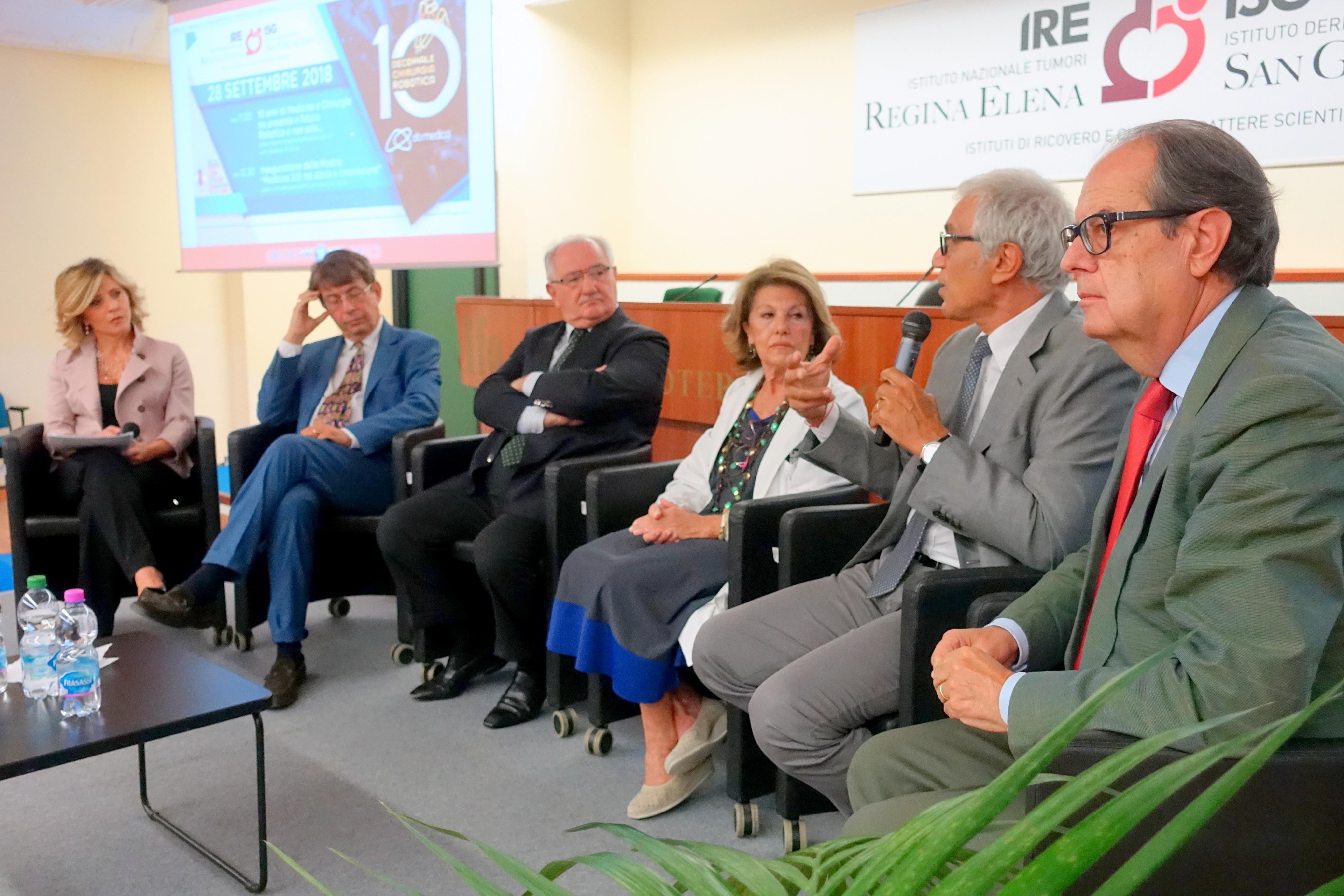 Convegno per i 10 anni della robotica agli IFO