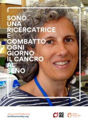 Immagine della campagna IFO per il World Cancer Day 2019