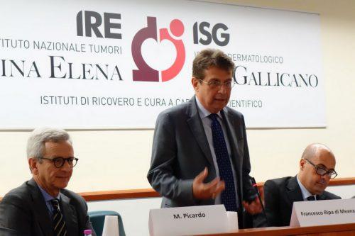 Il Direttore Generali IFO Ripa di Meana alla presentazione Fase 1