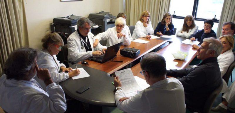 Team IFO in riunione per il Tumor Board