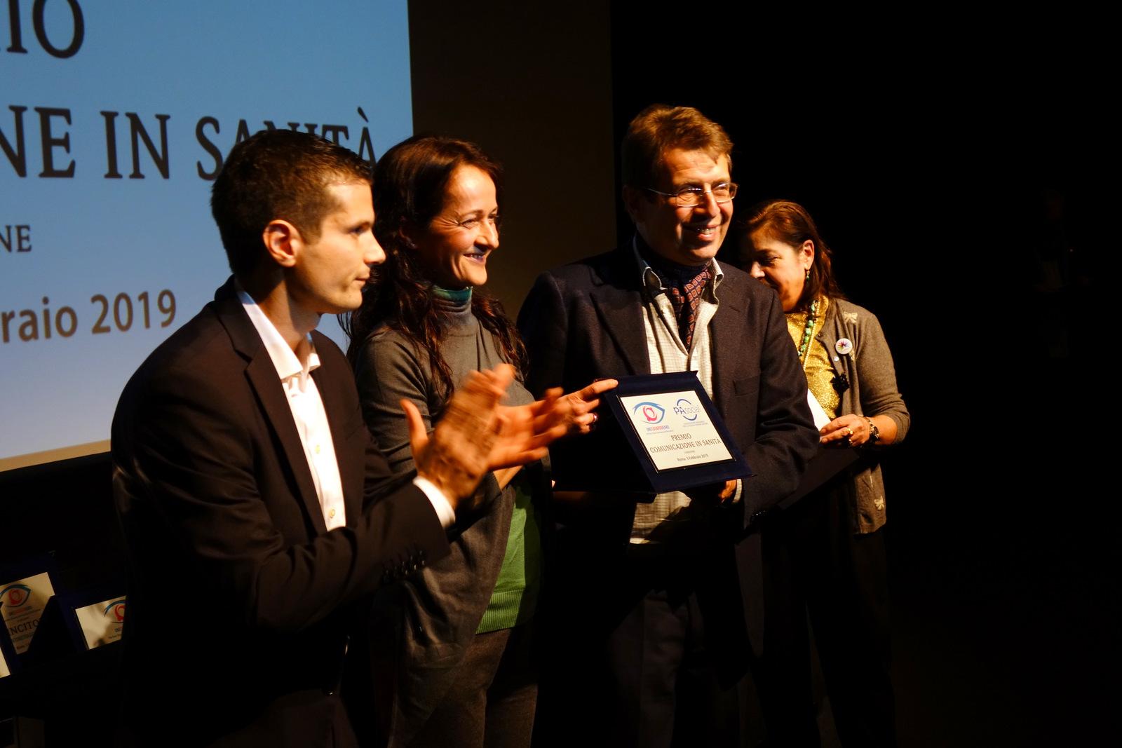 Premiazione del DG Ripa di Meana al festival Uno sguardo raro