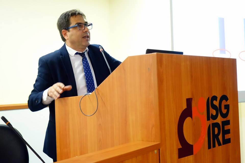 Alessio D'Amato alla presentazione del piano strategico IFO 2019