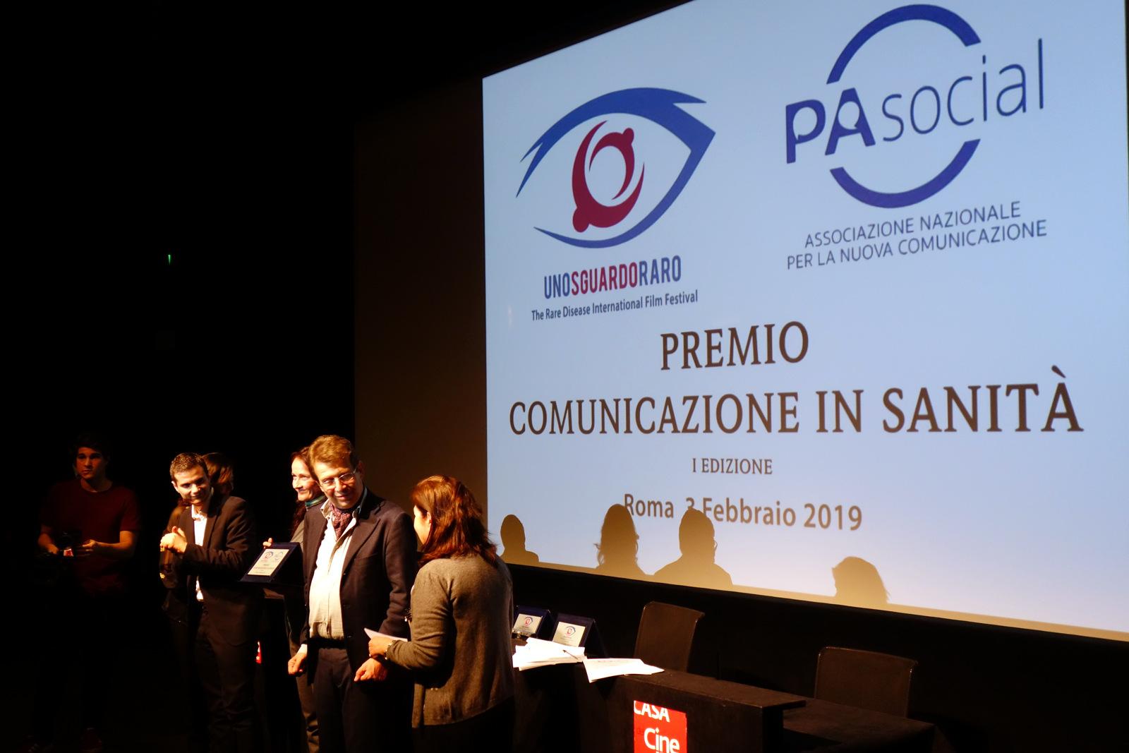 premio comunicazione in sanità 3 febbraio 2019