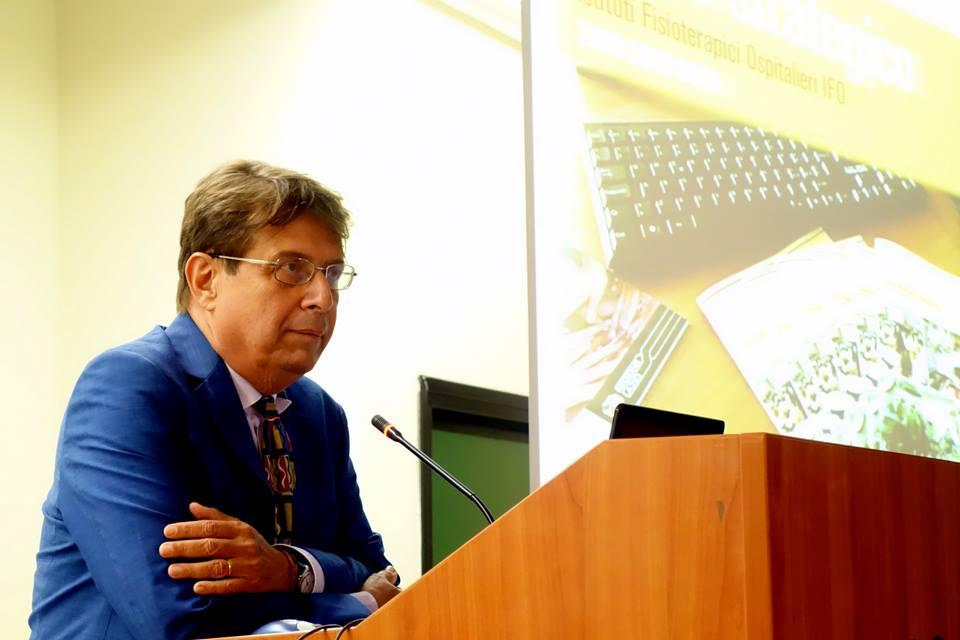 Primo piano del Dg Ripa di Meana alla presentazione del piano strategico IFO 2019
