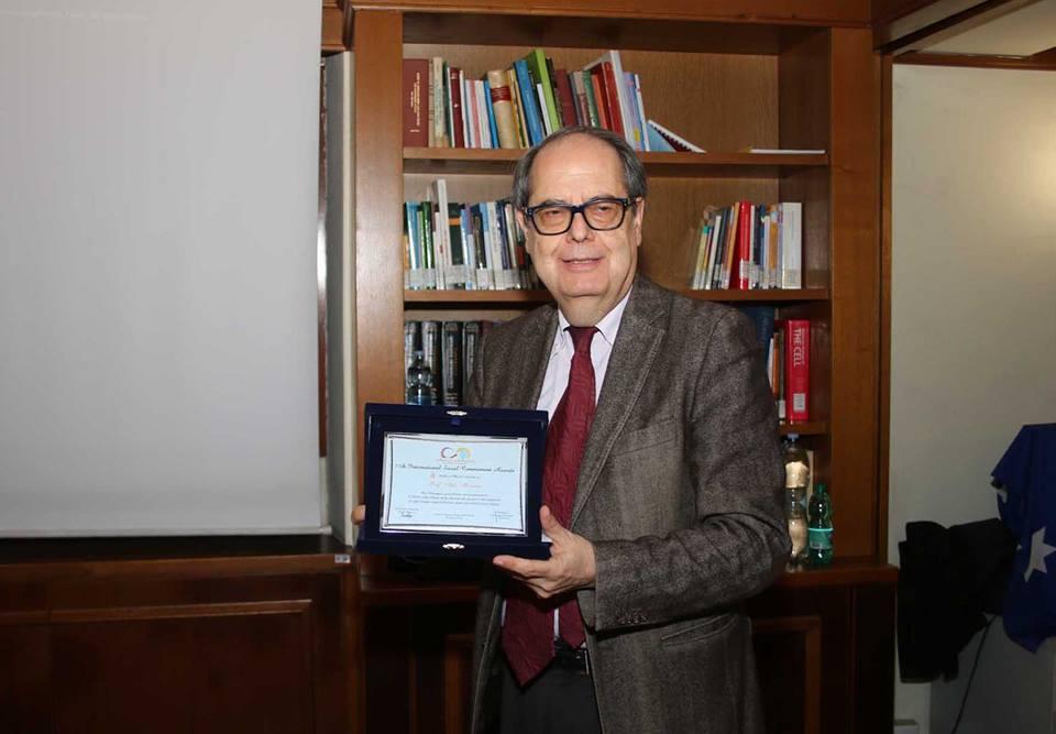 Morrone riceve il premio stelle al merito 2019