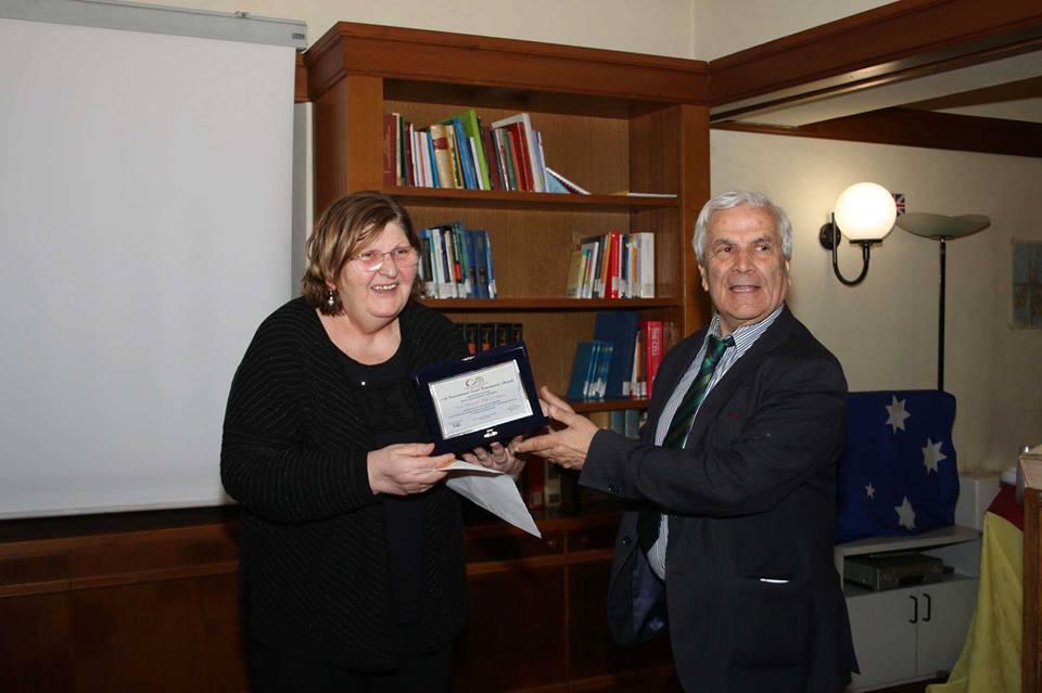 Vujovic riceve il premio stelle al merito 2019